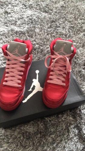 Air Jordan High Top Sneaker multicolored leather
