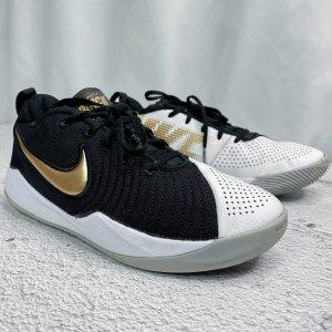 Nike Gr. 39 UK 6 schwarz weiss AT5298-010 Basketballschuhe 'Team Hustle Quick 2'