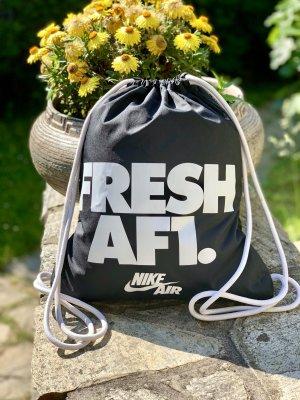 Nike Gym Bag/Rucksack Heritage Fresh AF1 Gym schwarz/weiß