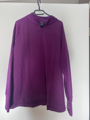 Nike gym sport shirt Pullover sweater lila XXL