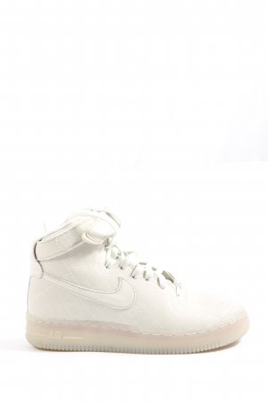 Nike High Top Sneaker weiß Casual-Look