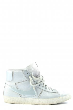 Nike High Top Sneaker hellgrau Casual-Look