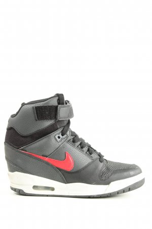 Nike High Top Sneaker hellgrau sportlicher Stil
