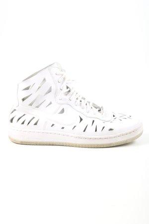 Nike High Top Sneaker weiß schlichter Stil
