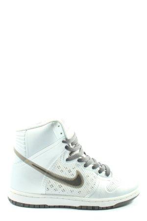 Nike High Top Sneaker türkis-weiß Casual-Look
