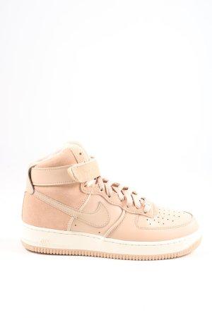 "Nike High Top Sneaker ""Air Force 1"" nude"