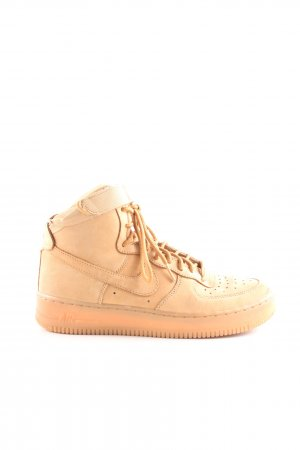 Nike High Top Sneaker nude Casual-Look