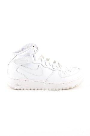 Nike Zapatillas altas blanco look casual