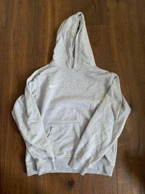 Nike Pull à capuche argenté-gris clair