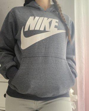 Nike Pull à capuche gris