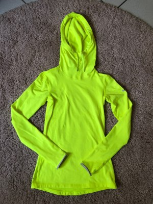Nike Hooded Sweatshirt white-neon yellow