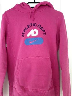 Nike Hoodie in pink / beere, Größe M