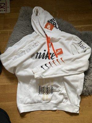 nike hoodie weiss orange