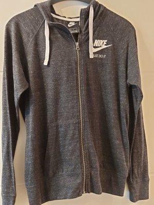 Nike Hoodiejacke dunkelgrau L