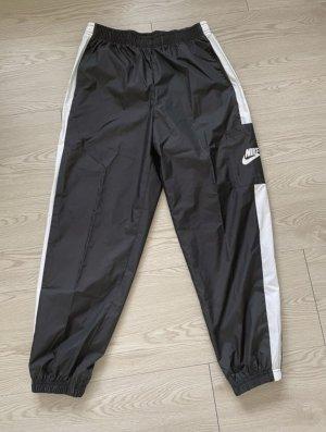 Nike Hose schwarz-weiß