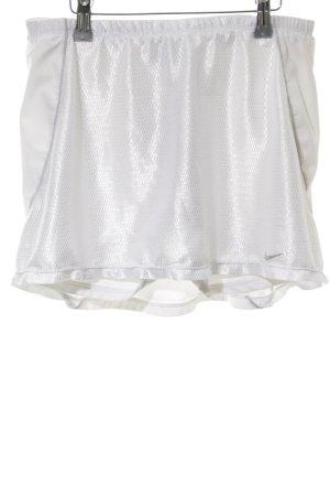 Nike Falda pantalón blanco look efecto mojado