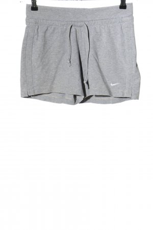 Nike Hot Pants light grey-white flecked casual look