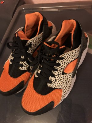 Nike huarache 38 39 limited edition orange Schwarz Weiß