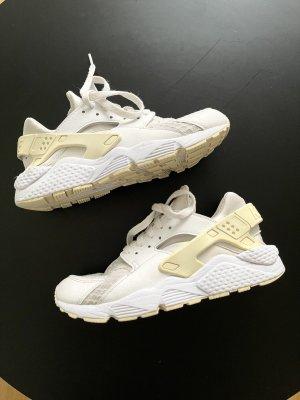 Nike Huarache Sneaker Creme Weiss Beige 38