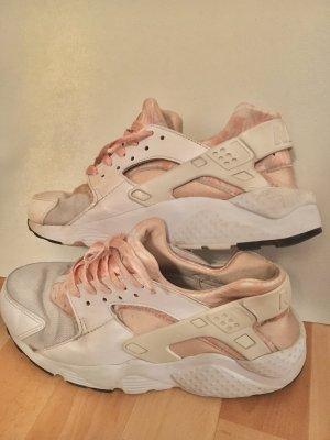 Nike Huaraches Weiß / Rose-Gold