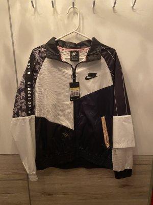 Nike Veste d'extérieur blanc-noir