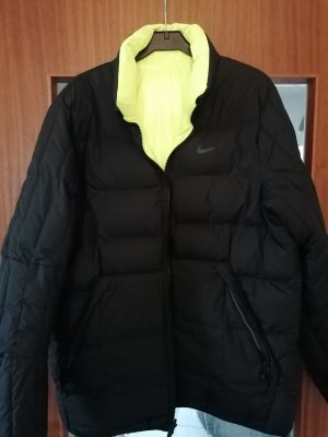 Nike Outdoor Jacket black-yellow