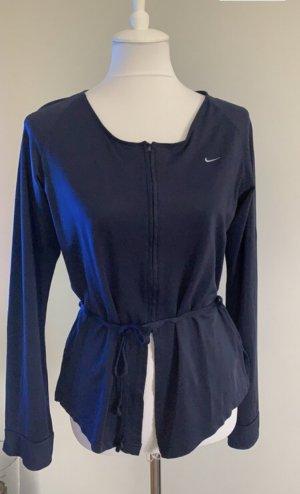 Nike Chaqueta estilo camisa azul oscuro