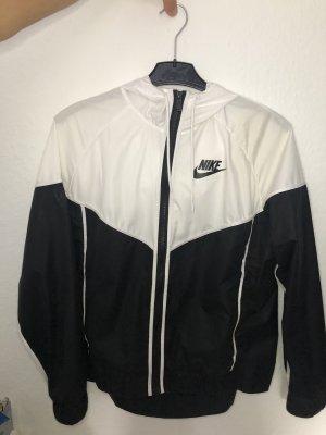 Nike Windjack wit-zwart