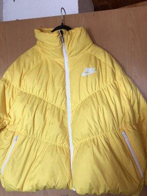 Nike Kurtka oversize żółty neonowy