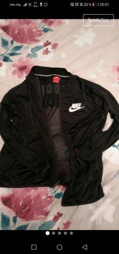 Nike Kurtka sportowa biały-czarny