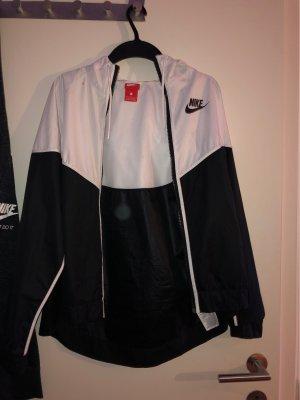 Nike Giacca bomber nero-bianco