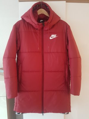 Nike Giacca lunga rosso-rosso scuro