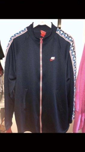 Nike Oversized Jacket dark blue-red