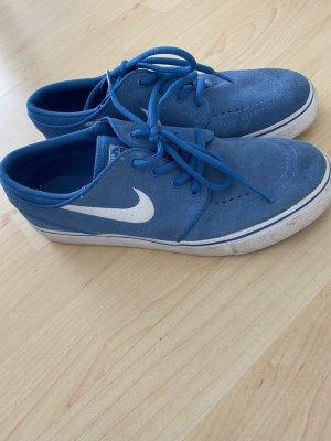 Nike Skaterschoenen staalblauw