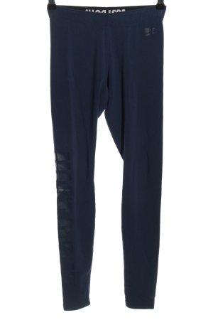 Nike Leggings blau-schwarz Casual-Look