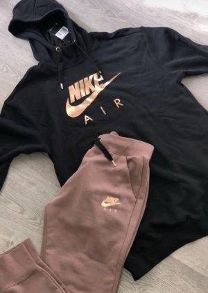 Nike Leisure suit black-rose-gold-coloured