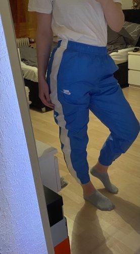 Nike Trackies white-neon blue