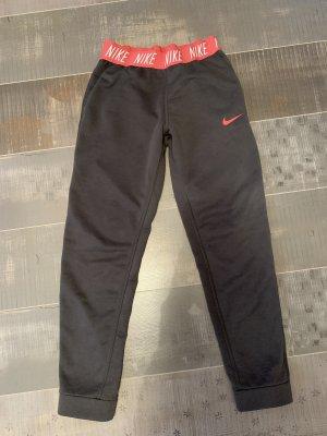 Nike Jogginghose grau / pink Gr. S