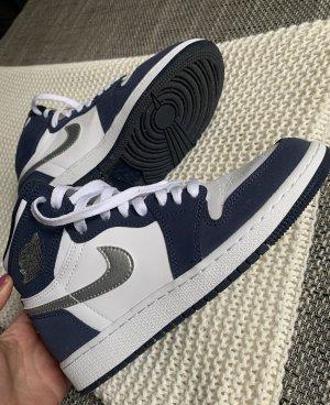 Air Jordan Sznurowane trampki biały-niebieski