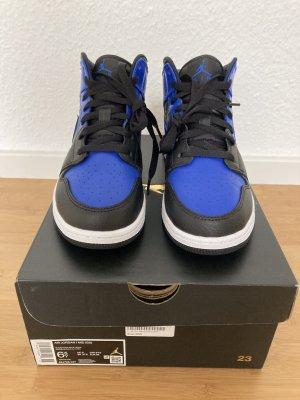Air Jordan High top sneaker blauw-zwart