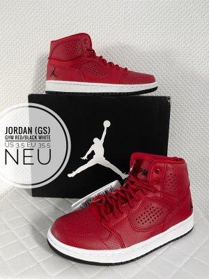 Air Jordan Wysokie trampki czerwony-biały