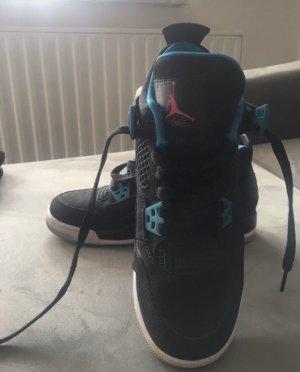 Air Jordan Wysokie trampki czarny-turkusowy