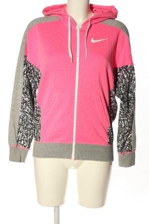 Nike Kapuzenjacke meliert Casual-Look