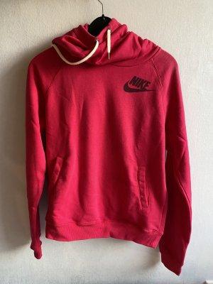 Nike Pull à capuche magenta