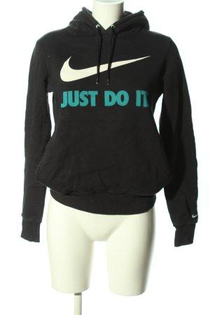 Nike Kapuzenpullover Schriftzug gedruckt Casual-Look