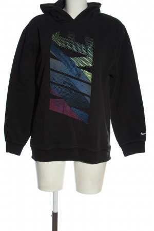 Nike Kapuzensweatshirt Schriftzug gedruckt Casual-Look