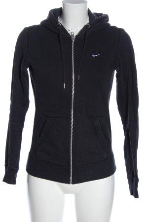 Nike Kapuzensweatshirt schwarz sportlicher Stil