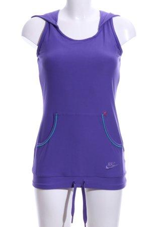 Nike Kapuzensweatshirt lila Casual-Look