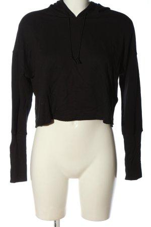 Nike Kapuzensweatshirt schwarz Casual-Look