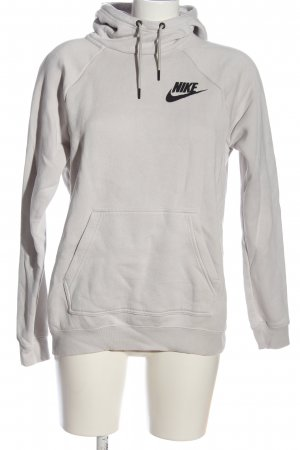 Nike Kapuzensweatshirt hellgrau Casual-Look